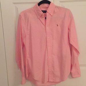 Pink Ralph Lauren Buttondown